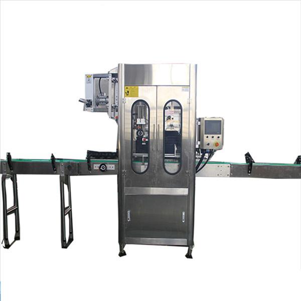 Etichettatrice automatica per manicotti termoretraibili per bottiglie ad alta velocità