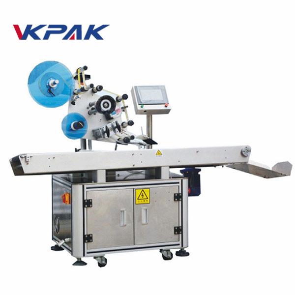 Etichettatrice automatica per appiattimento adesivo per superficie superiore