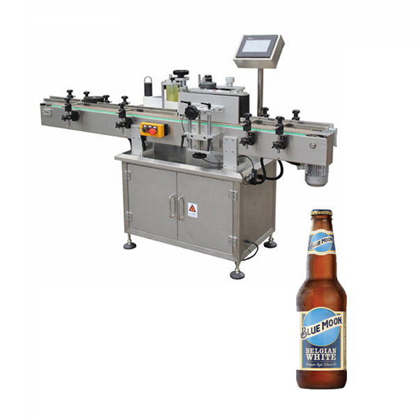 Etichettatrice per bottiglie di birra