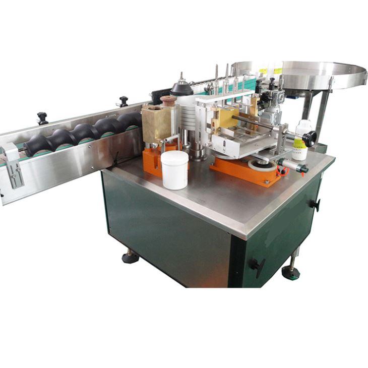 Etichettatrice per etichette in carta colla bagnata automatica completa per prodotti alcolici
