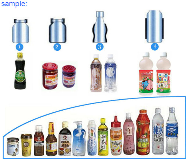 Campioni di prodotti finali per l'etichettatura dei prodotti finali