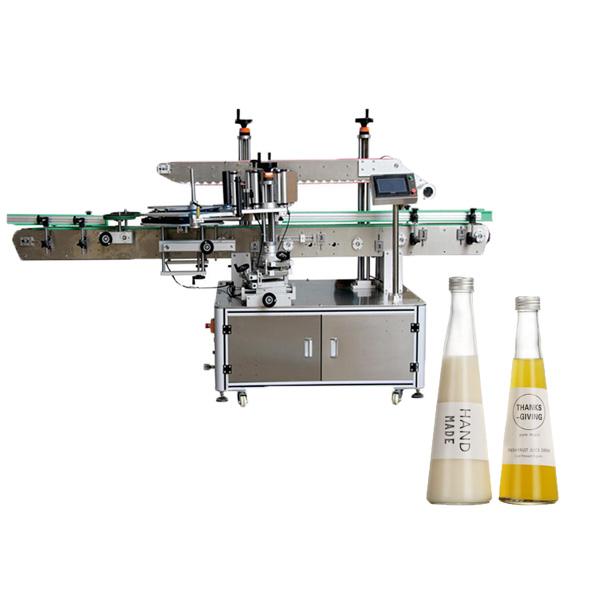 Etichettatrice per bottiglie rastremate